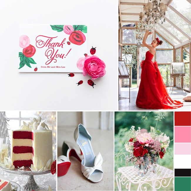 BerinMade_Sultry_Red_Wedding_Inspiration