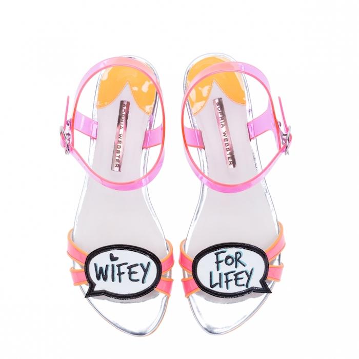 Sophia Webster Bridal Wifey For Lifey Sandal  3