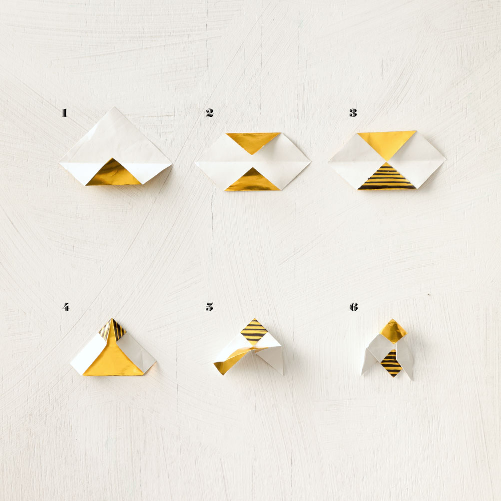 Origami-Bees